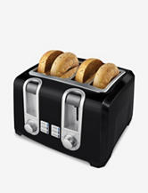 Black & Decker® Black 4-Slice Toaster