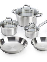 T-fal Elegance 10-pc. Stainless Steel Cookware Set