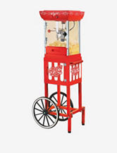 Nostalgia Electrics Vintage Collection 48 Inch Old Fashioned Popcorn Cart