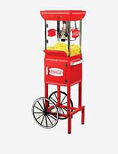 Nostalgia Electrics Coco-Cola® Series 48 Inch Old Fashioned Popcorn Cart