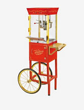 Nostalgia Electrics Vintage Collection 53 Inch Old Fashioned Popcorn Cart