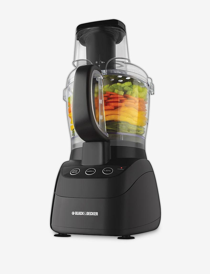 Black & Decker Black Food Processors Kitchen Appliances
