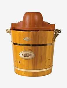 Nostalgia Electrics Wooden Bucket Electric Ice Cream Maker