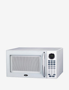 Oster 1.1-Cubic Foot White Digital Microwave Oven