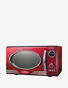 Nostalgia Electrics Retro Series Red 0.9-Cubic Foot Microwave Oven