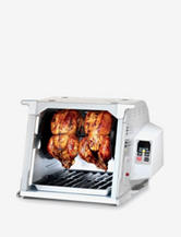 Ronco Digital Showtime Rotisserie and BBQ Oven – Platinum Edition