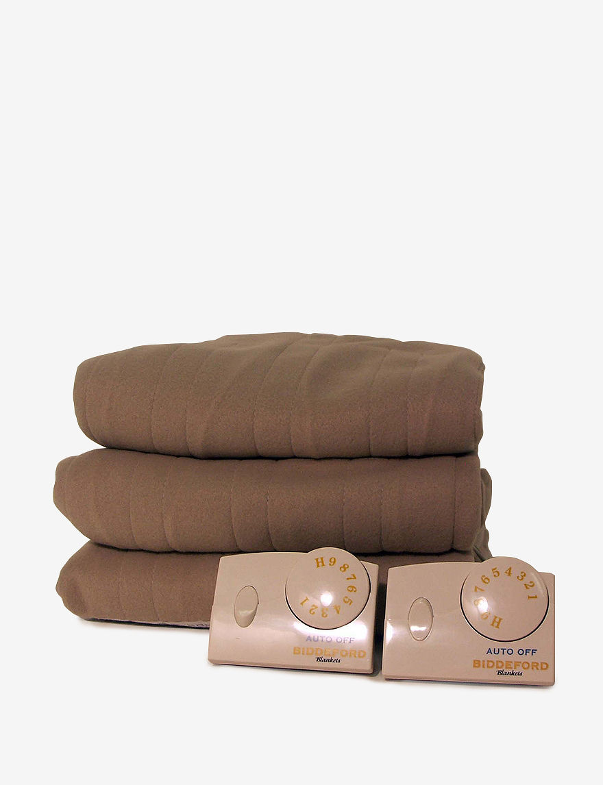 Biddeford Brown Blankets & Throws