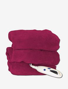 Biddeford Red Blankets & Throws
