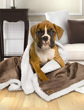 Animal Planet Ultra-Soft Sherpa Pet Blanket – Pewter