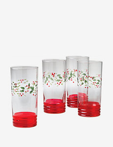 Pfaltzgraff Winterberry 4-pc. Hand-Painted Cooler Glasses Set