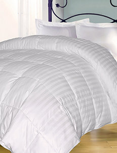Blue Ridge Home Fashions 350 Thread Count Damask Stripe Down Alternative Comforter