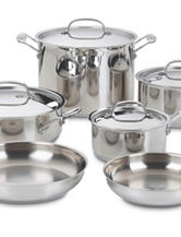 Cuisinart 10-pc. Chef's Classic Stainless Steel Cookware Set
