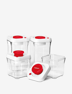 Cuisinart 8-pc. Red Freshedge Vacuum-Seal Food Storage System