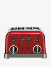 Cuisinart Red Metal Classic 4-Slice Toaster