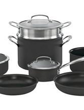Cuisinart Anodized 11-pc. Cookware Set