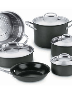 Cuisinart GreenGourmet™ Hard Anodized 10-Piece Cookware Set