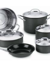 Cuisinart GreenGourmet™ Hard Anodized 10-Piece Cookware Set