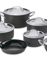 Cuisinart GreenGourmet™ Hard Anodized Nonstick 12-pc. Cookware Set