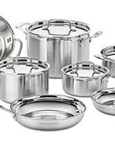 Cuisinart MultiClad Pro Stainless 12-pc. Cookware Set