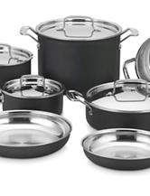 Cuisinart MultiClad Unlimited 12-Piece Cookware Set