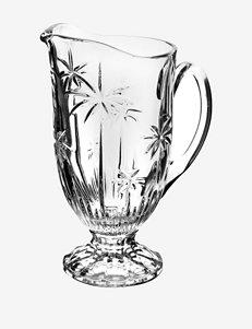 Godinger Palm Crystal Collection Pitcher
