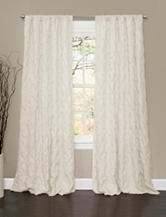 Lush Decor Lake Como Ivory Window Curtain Panel
