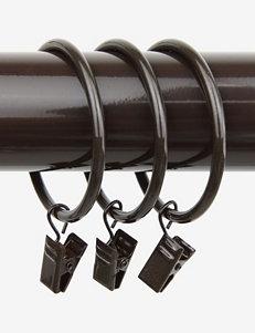 Rod Desyne Brown Curtain Rods & Hardware