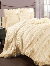 Lush Decor Belle 4-pc. Ivory Comforter Set