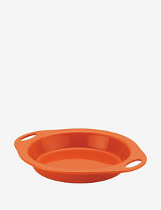 "Rachael Ray Stoneware 9"" Pie Baker – Orange"