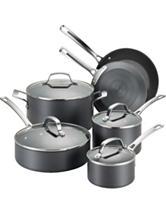 Circulon Genesis Hard-Anodized Nonstick 10-pc. Cookware Set