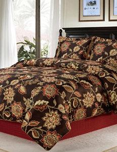Home Fashions International Brown Multi Comforters & Comforter Sets