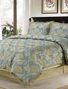 Home Fashions International Blue Multi Comforters & Comforter Sets