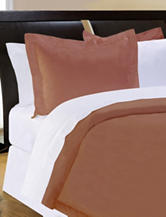 Pointehaven 500 Thread Count Egyptian Cotton 3-pc. Duvet Set – Espresso