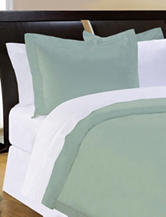 Pointehaven 500 Thread Count Egyptian Cotton 3-pc. Duvet Set – Sage