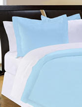 Pointehaven 500 Thread Count Egyptian Coton 3-pc. Duvet Set – Sky Blue