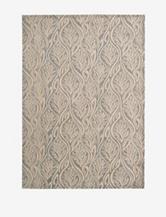 Kathy Ireland Hollywood Shimmer Abstract Light Grey Rug