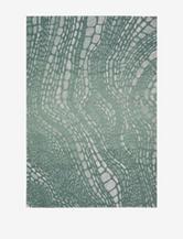 Kathy Ireland Palisades Abstract Aqua Rug