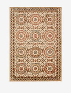 Kathy Ireland Villa Retreat Medallion Cream Rug