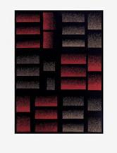 Nourison Modesto Abstract Rug – Black