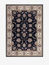 Nourison Modesto Oriental Rug – Black