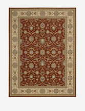 Nourison Persian Crown Oriental Rug – Brick Red