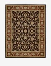 Nourison Persian Crown Oriental Rug – Dark Brown