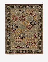 Nourison Persian Crown Oriental Rug – Black