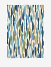 Waverly Sun N' Shade Abstract Seaglass Rug