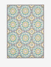 Waverly Sun N' Shade Medallion Jade Rug