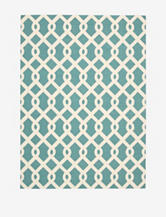 Waverly Sun N' Shade Geometric Poolside Rug