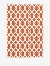 Waverly Sun N' Shade Geometric Sienna Rug