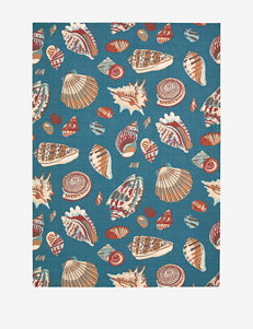 Waverly Sun N' Shade Nautical Azure Rug