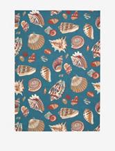 Waverly Sun N' Shade Nautical Azure Rug