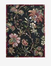 Waverly Artisanal Delight Floral Noir Rug